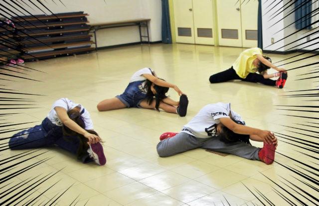 豊橋市のダンス教室の様子