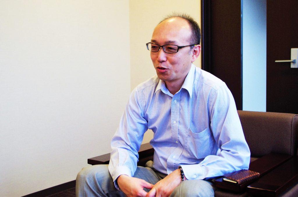 株式会社ホウキンの田口取締役部長