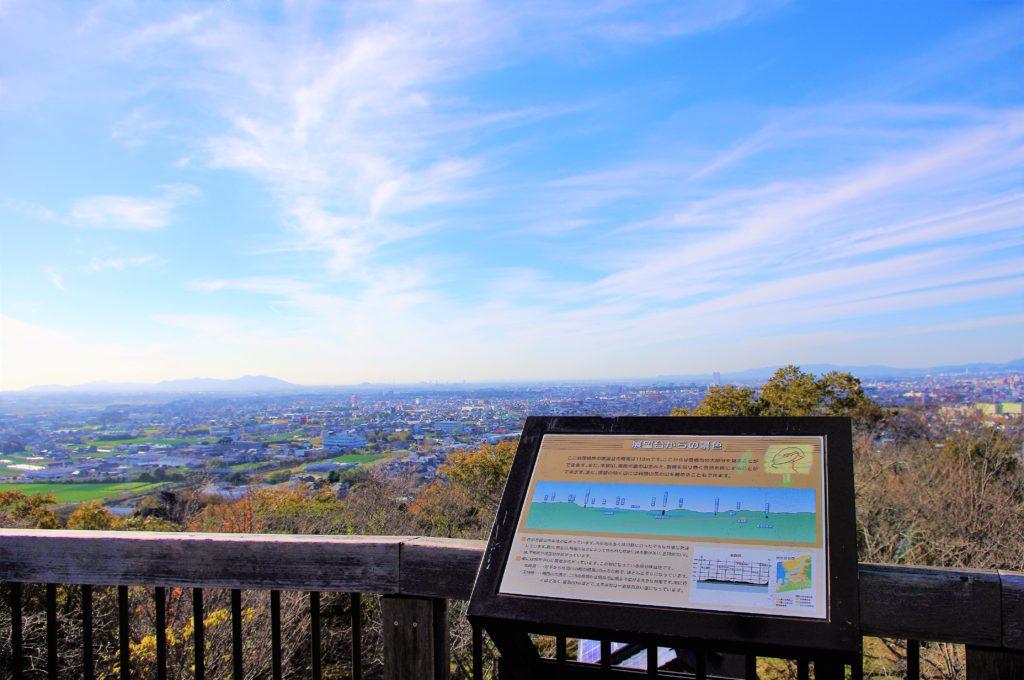 岩屋観音展望台からの景色