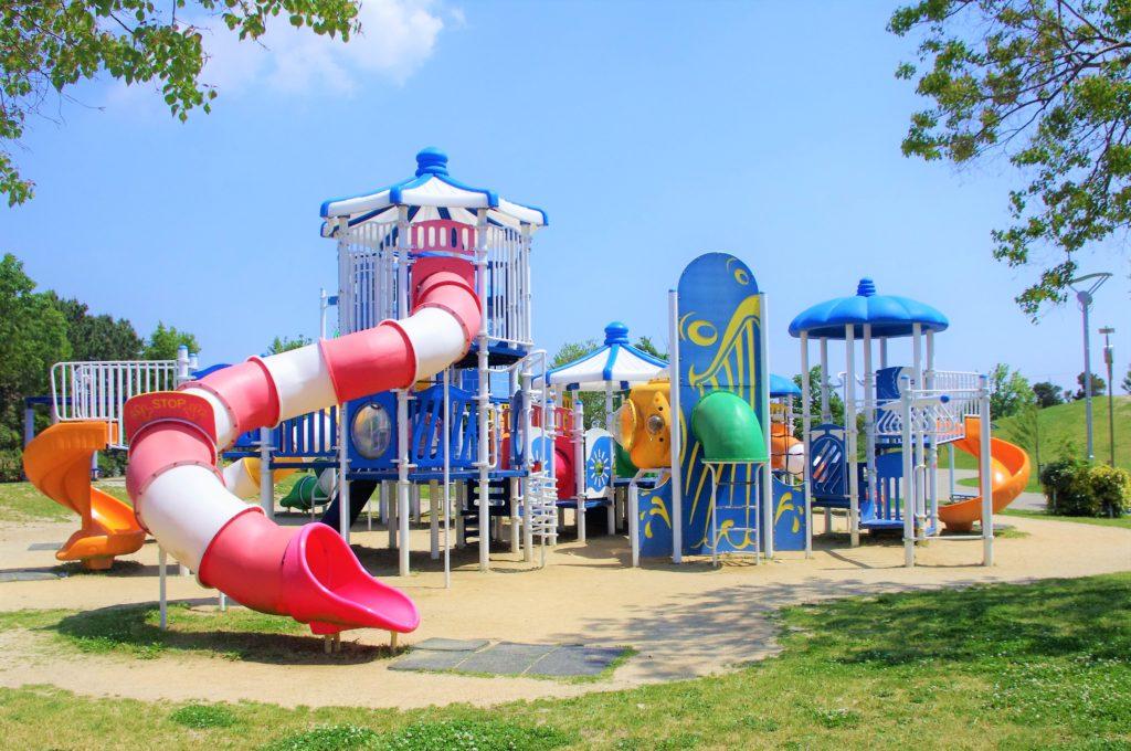 豊橋総合スポーツ公園の遊具