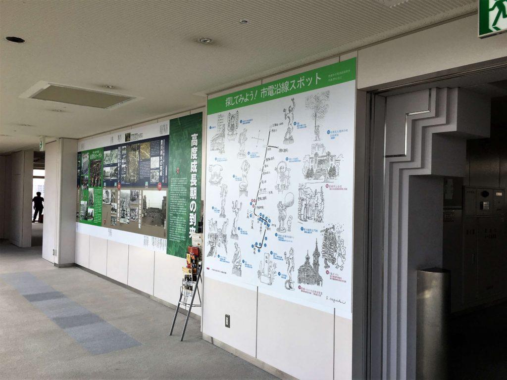 豊橋市役所展望ロビー