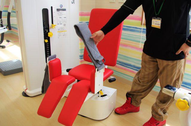 通所リハビリテーションFAMのトレーニング器具