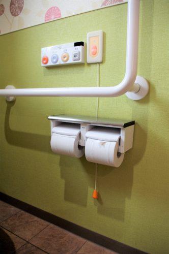 トイレの呼び出しボタン