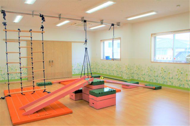里童こころと育ちのクリニックの運動スペース