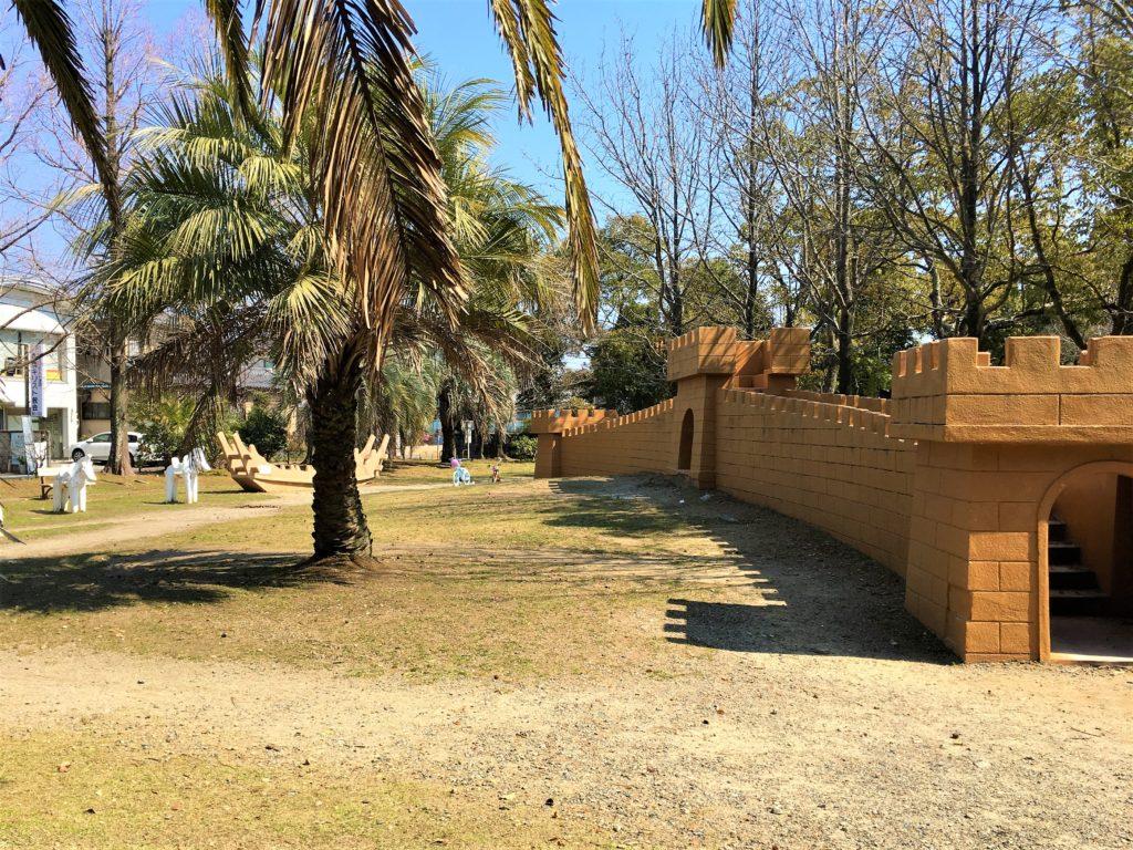 向山大池公園の広場