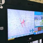 豊橋駅の改札前にタッチパネル(デジタルサイネージ)が設置されたぞ!