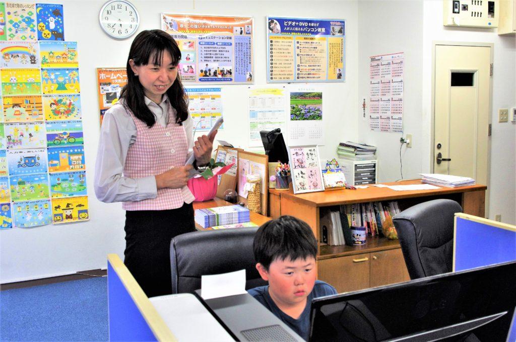 マナカルPCスクール豊橋弥生校の授業風景