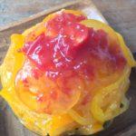 Marché&Café hana・yasaiでトマトのかき氷『とろ~りTomatoスペシャル』販売中