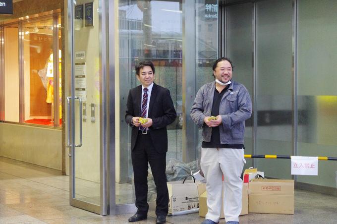 斎藤裕幸社長と内田貴士社長
